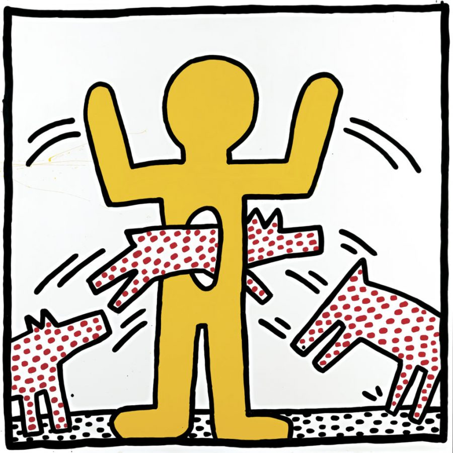 Keith Haring, Untitled, 1982, The ©Keith Haring Foundation