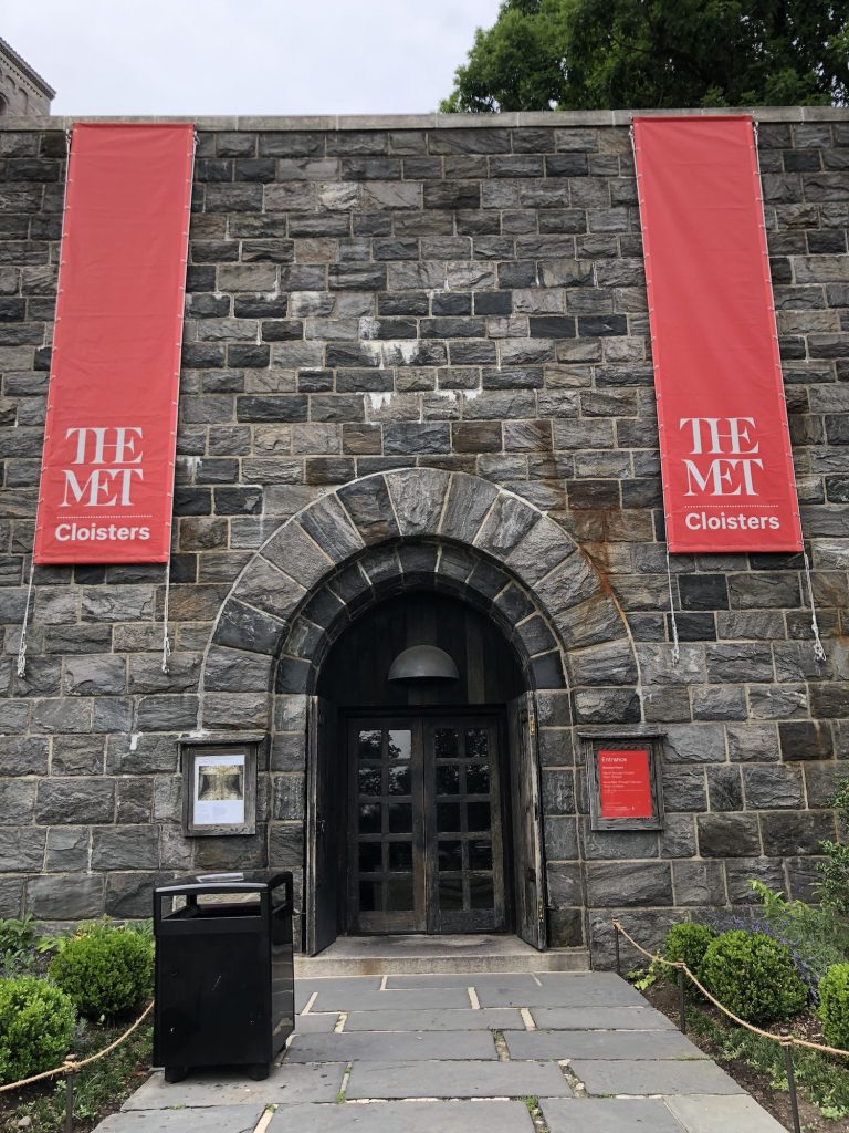The Met Cloisters, Fort Tryon Park, New York, U.S.A.. Exterior view.