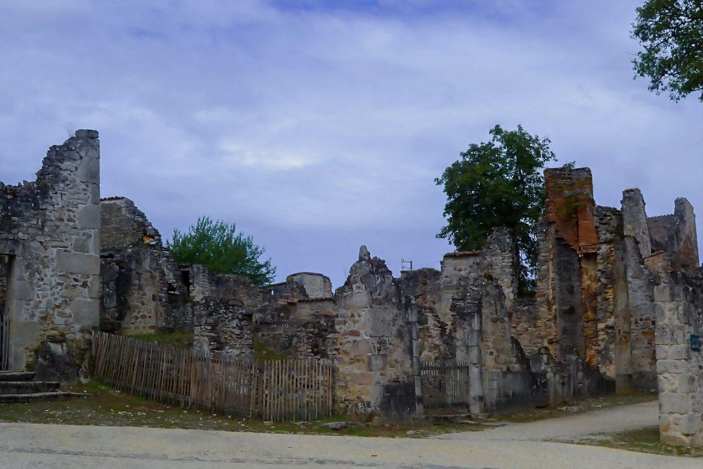 Ruins of the Village Oradour-sur-Glane, Nouvelle-Aquitaine, France