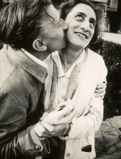 Famous artist couples: Josef and Anni Albers, undated photograph.