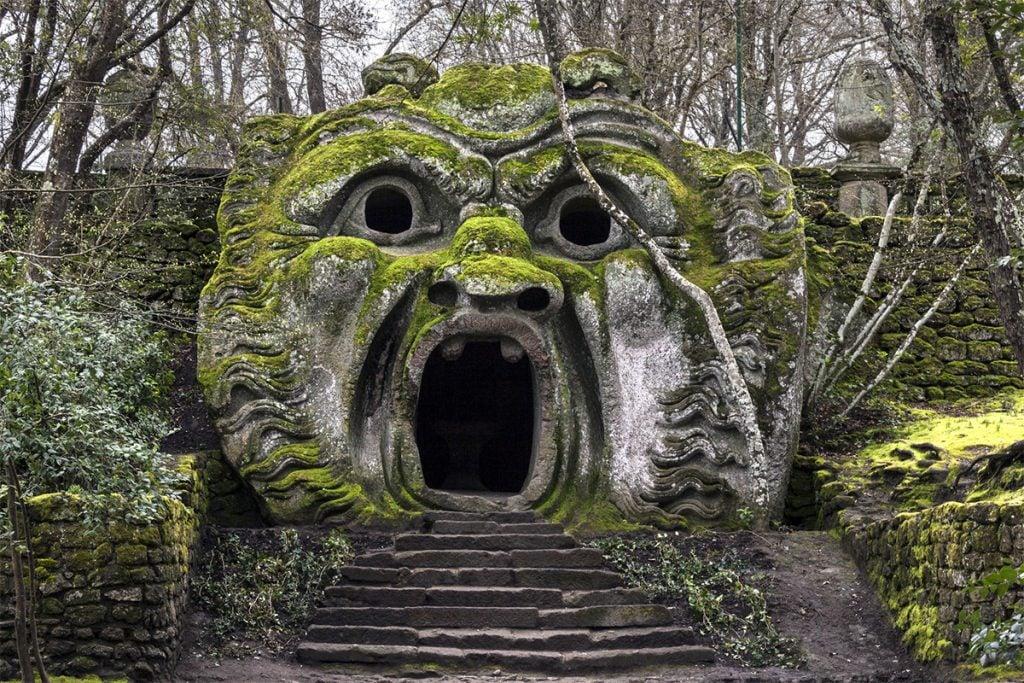 Parco dei Mostri, Bomarzo, Italy. Source: www.livitaly.com.