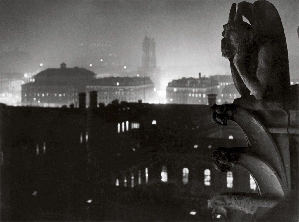 Paris in the early photographs: Brassaï, View of Paris from Notre Dame, toward the Hôtel-Dieu and the Tour Saint-Jacques , 1933, Estate Brassaï Succession, Paris, France.
