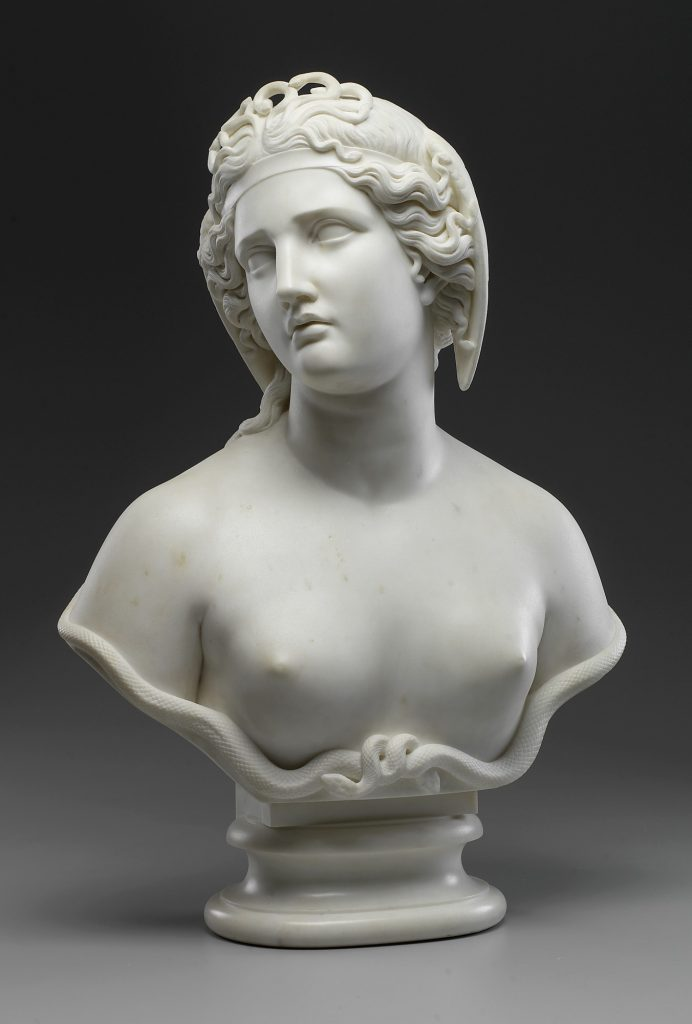 Harriet Goodhue Hosmer, Medusa