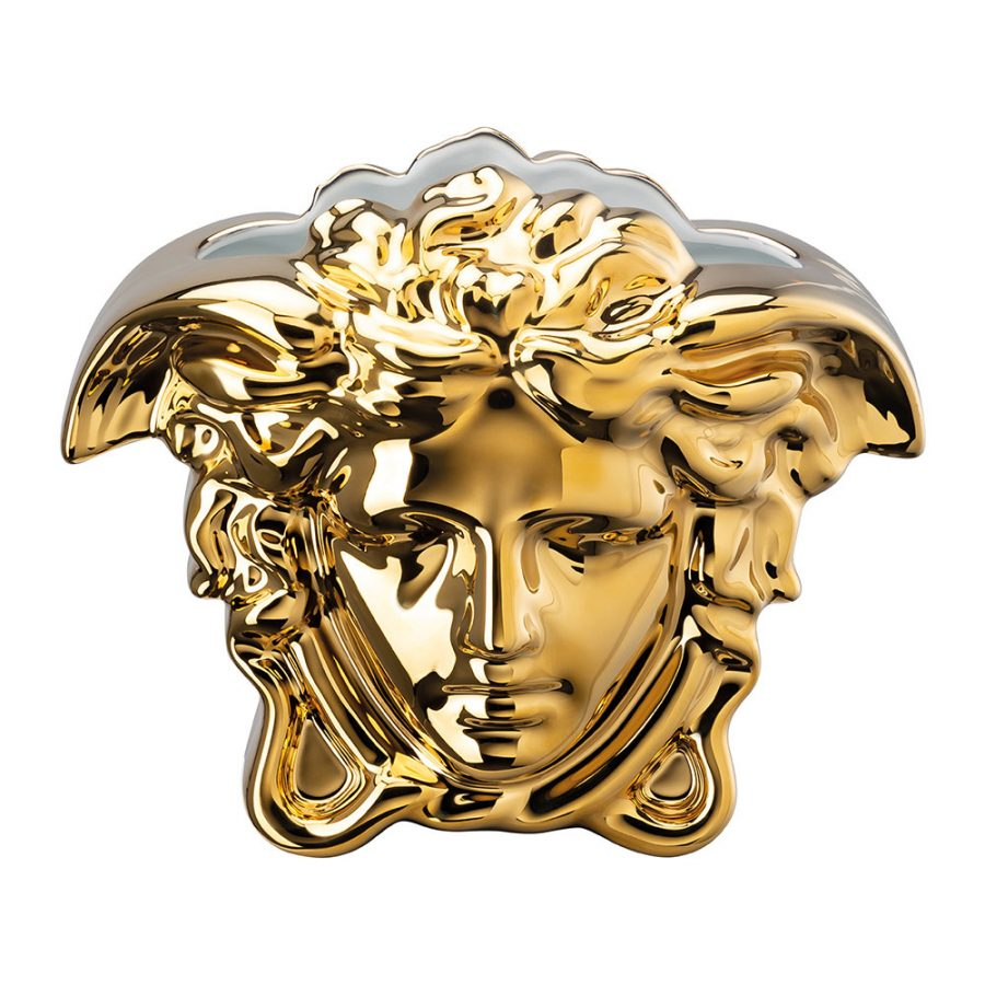 Fashion house Versace have used the Medusa head in their logo since the 1990's.
