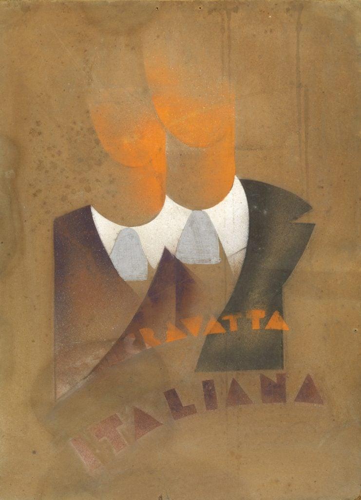 Renato Di Bosso, Anticravatta Italiana (The Anti-tie), 1933.
