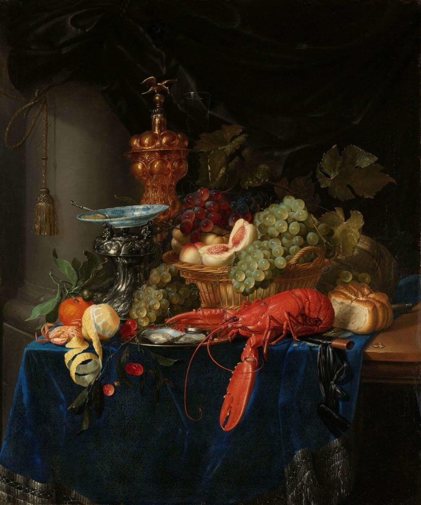 Pieter de Ring, Still Life with a Golden Goblet, 1640–60, Rijksmuseum, Amsterdam, Netherlands.