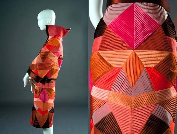 Fashion inspired by Futurists Missoni dress inspired by Fortunato Depero. Source: Pinterest.