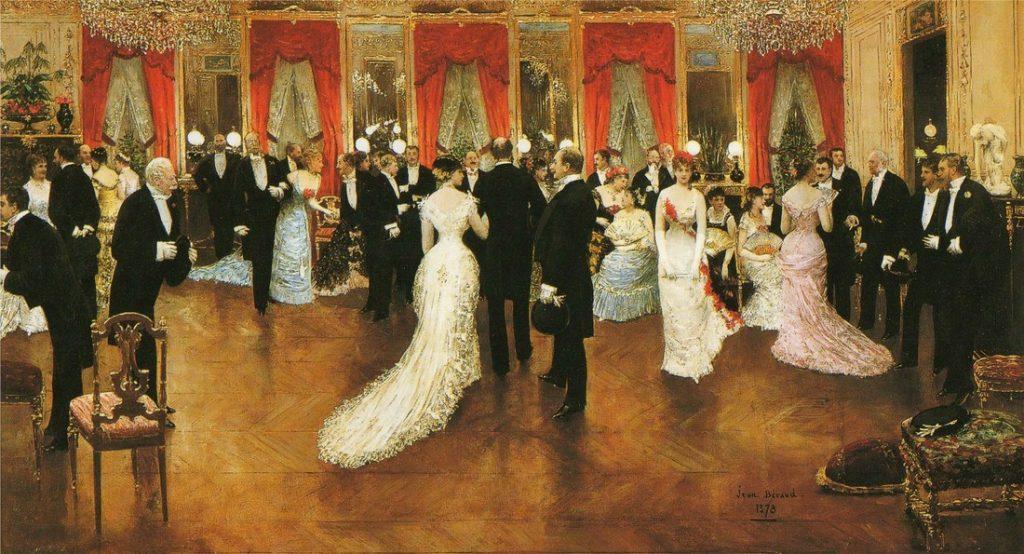 Jean Béraud, Une Soirée, 1878, oil on canvas, Musée d'Orsay, Paris, France.