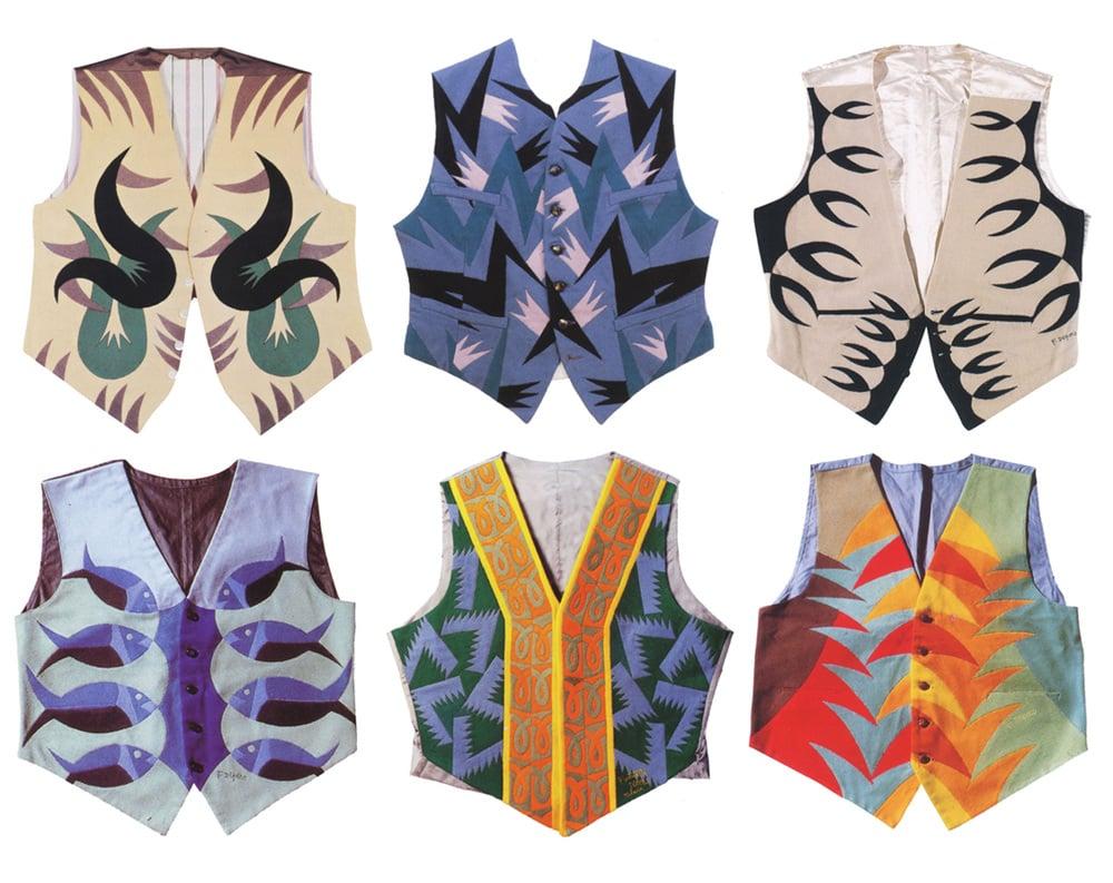 Futurist fashion: Fortunato Depero, Futurist Vests, 1923-24.