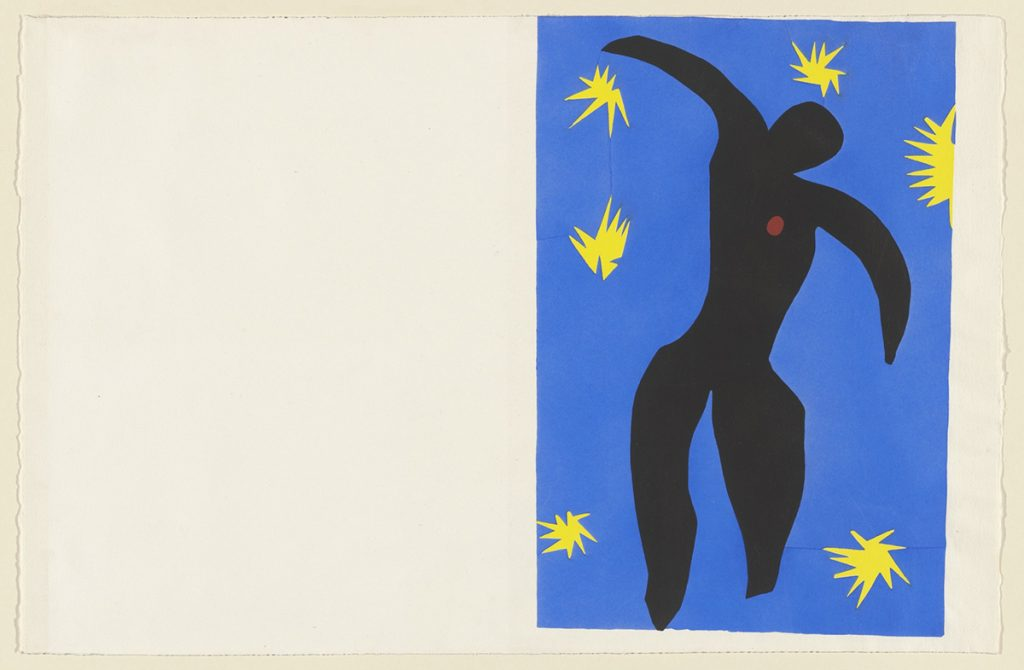 Music and art: Henri Matisse, Icarus (Icare) from Jazz