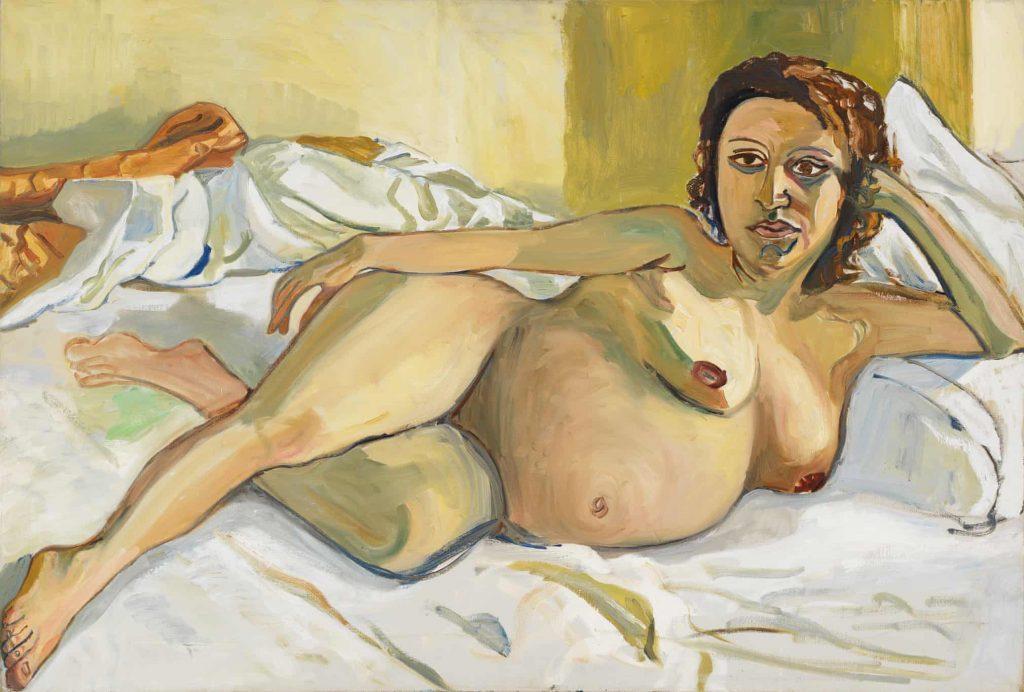 Alice Neel, Pregnant Maria, 1964, private collection