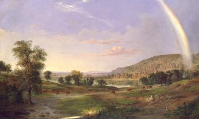 Robert S. Duncanson, Landscape with Rainbow cover