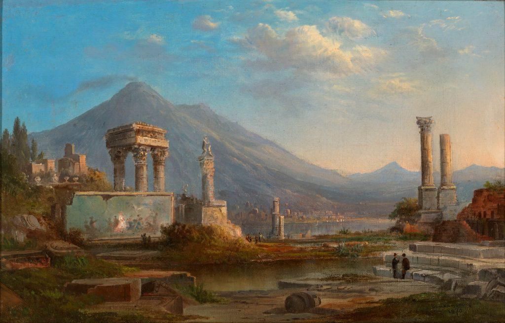 Robert S. Duncanson, Vesuvius and Pompeii