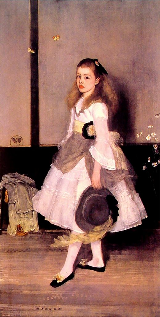 Music and art: James Abbott McNeill Whistler, Harmony in Grey and Green: Miss Cecily Alexander