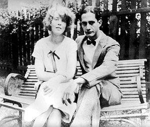 Alice Neel and Carlos Enriques,