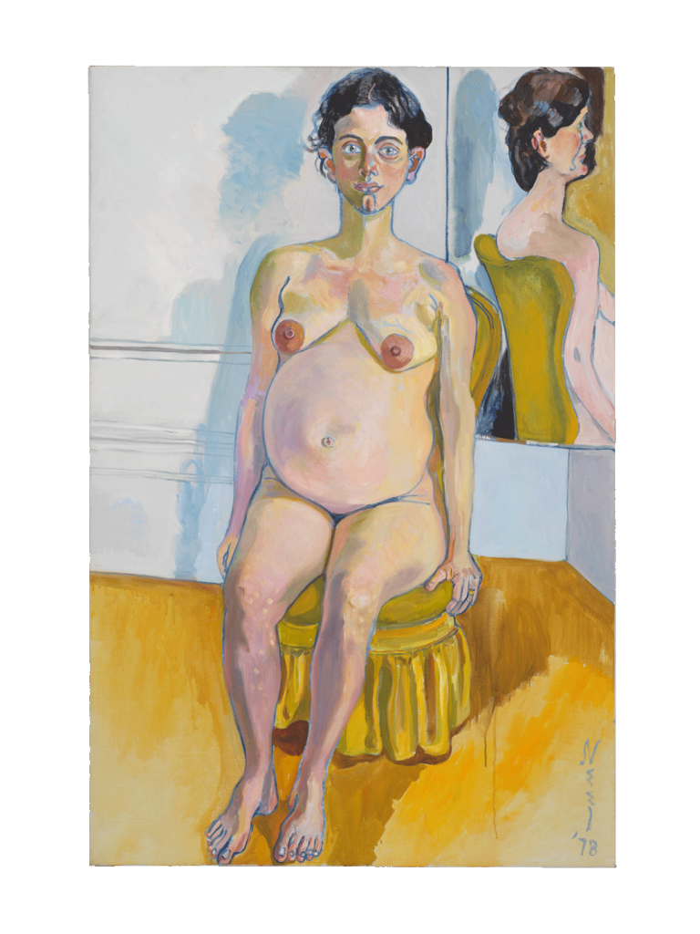 Alice Neel, Margaret Evans Pregnant, 1978, private collection