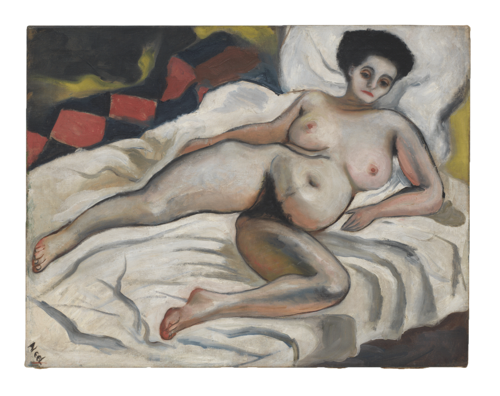 Alice Neel, Nadya Nude, 1933, private collection.