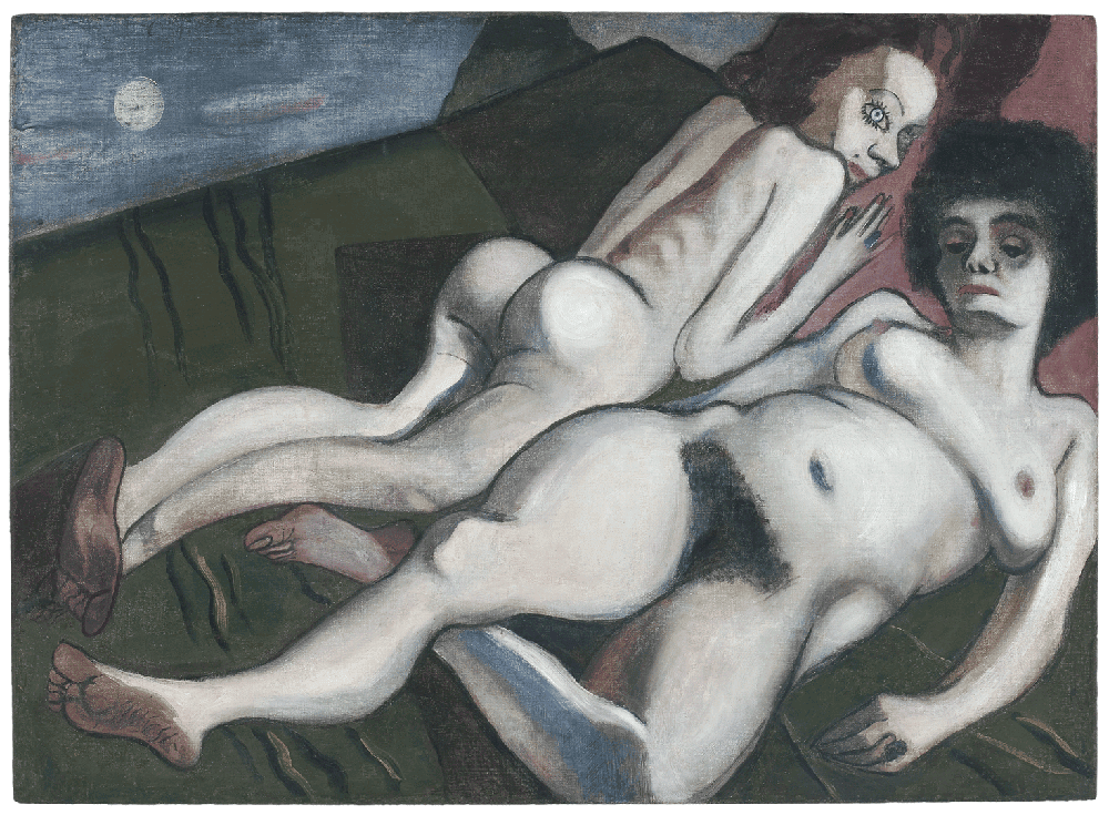 Alice Neel, Nadya and Nona, 1933, private collection