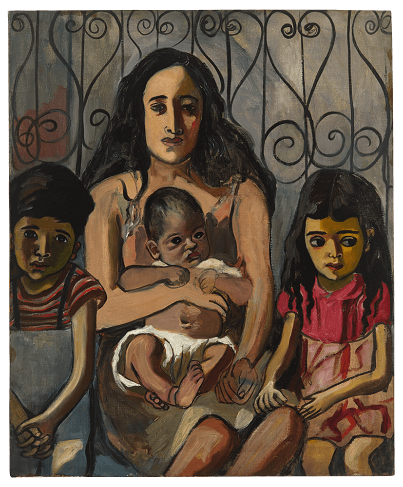 Alice Neel, The Spanish Family, 1943, private collection.