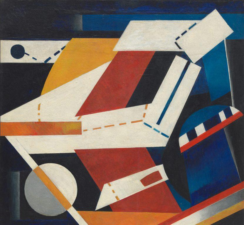 Alexandra Exter, Construction, 1922-3, oil on canvas, Museum of Modern Art, New York, USA