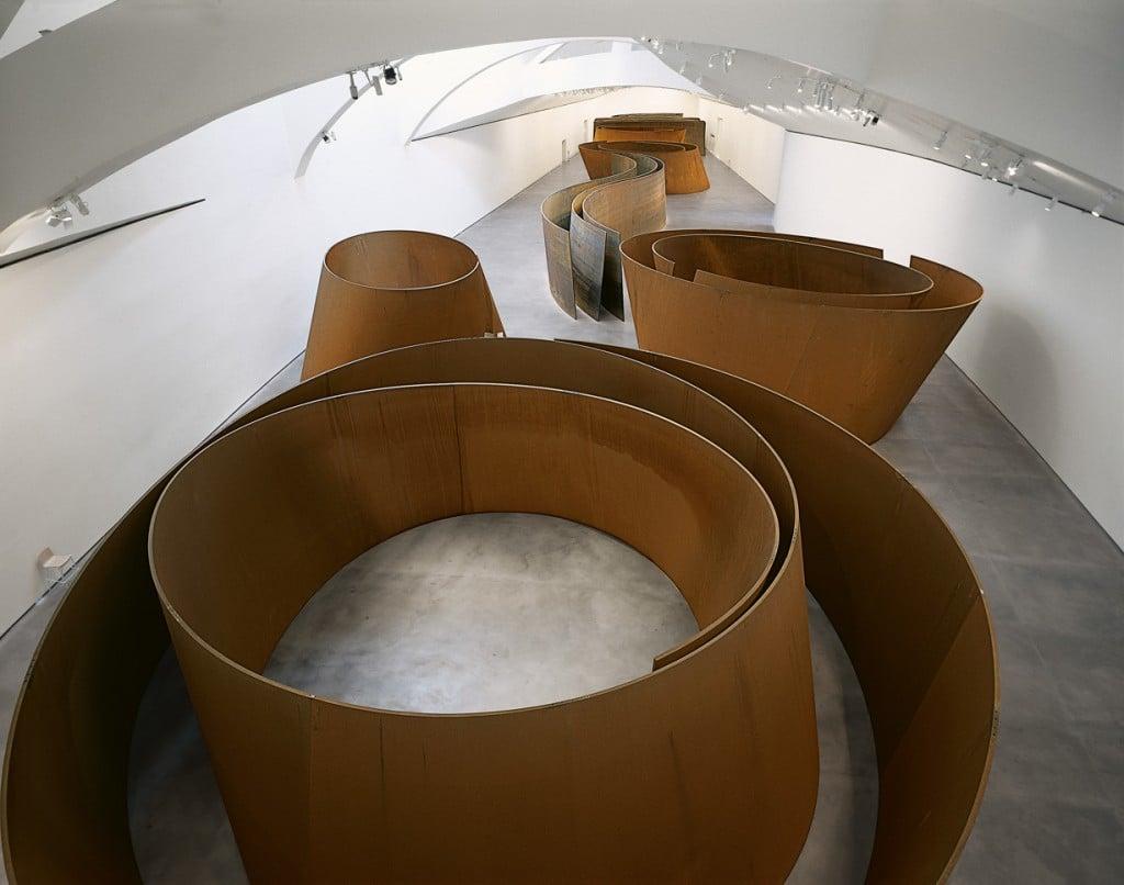 Richard Serra, The Matter of Time, 2005, Guggenheim Bilbao Museum, Bilbao, Spain. Source: Guggenheim Bilbao.
