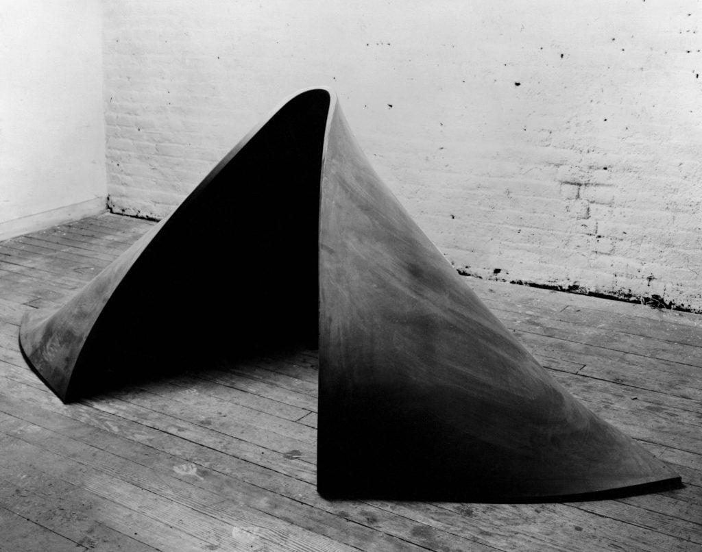 Richard Serra, To Lift, 1967, MoMA, NY.
