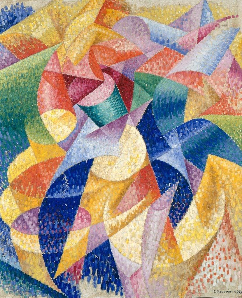 Gino Severini, Sea Dancer, 1914, Guggenheim Museum.