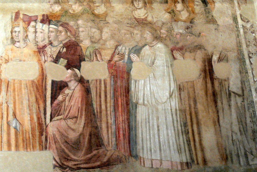 Giotto, Dante's portrait, 1330-1337, Cappella di Santa Maria Maddalena, Palazzo del Bargello, Florence, Italy. Source: www.beniculturali.it.