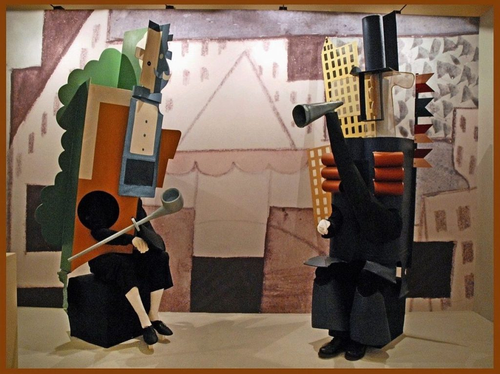 Opera in Art: Pablo Picasso, Set and Costumes for Parade