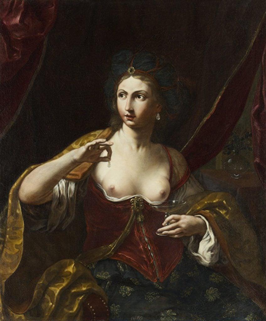 Elisabetta Sirani, Cleopatra, 1664, private collection. Uffizi.