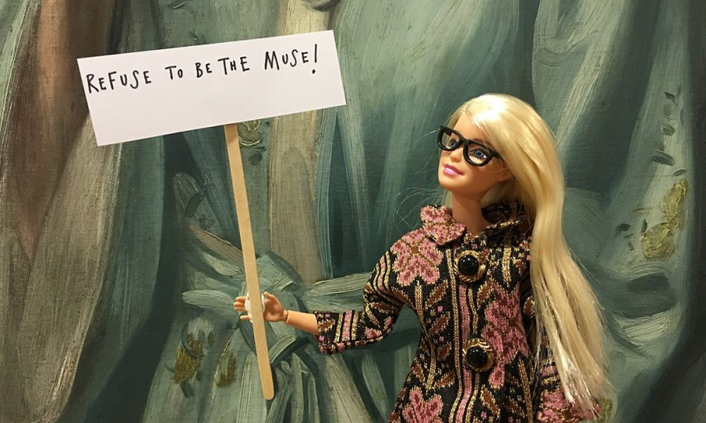 """""""Refuse to be the Muse!"""", @BarbieReports."""