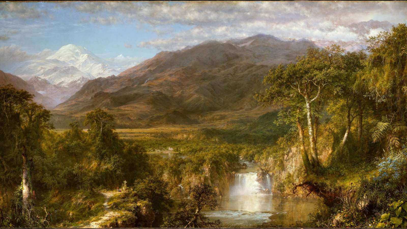 Frederic Church, Heart of the Andes cover