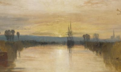 J.M.W. Turner, Chichester Canal, c.1828, Tate, London, detail - Art and Industry