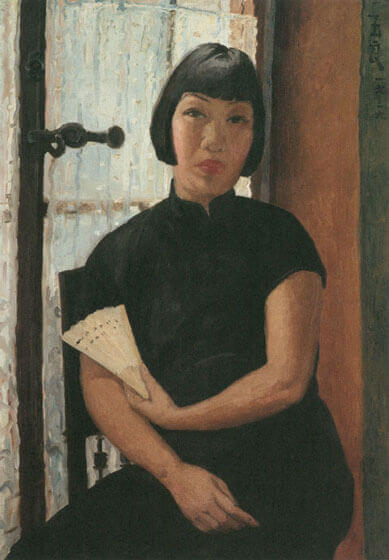 Pan Yuliang, Portrait of the Artist, 1939, private collection