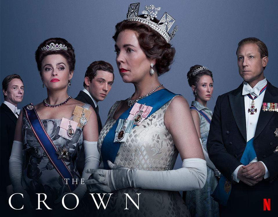 Teaser for The Crown, Netflix TV Series.