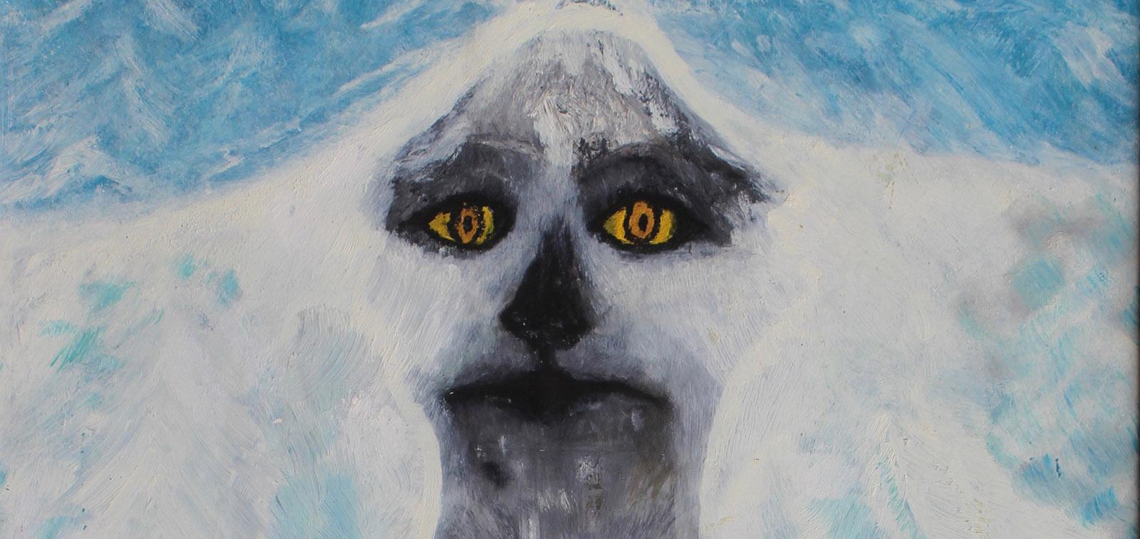 H, Dog, acrylic on canvas, 1993