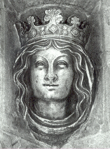 Eleanor of Provence, c.1250, author unknown, Muniment Room, Westminster Abbey, London, England, UK