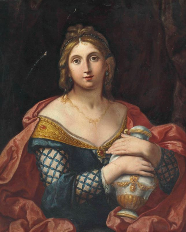 Elisabetta Sirani, Portrait of a Lady as Pandora, date unknown, private collection.