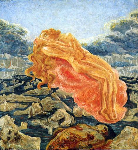 Umberto Boccioni, Paolo e Francesca, 1908-09, private collection.