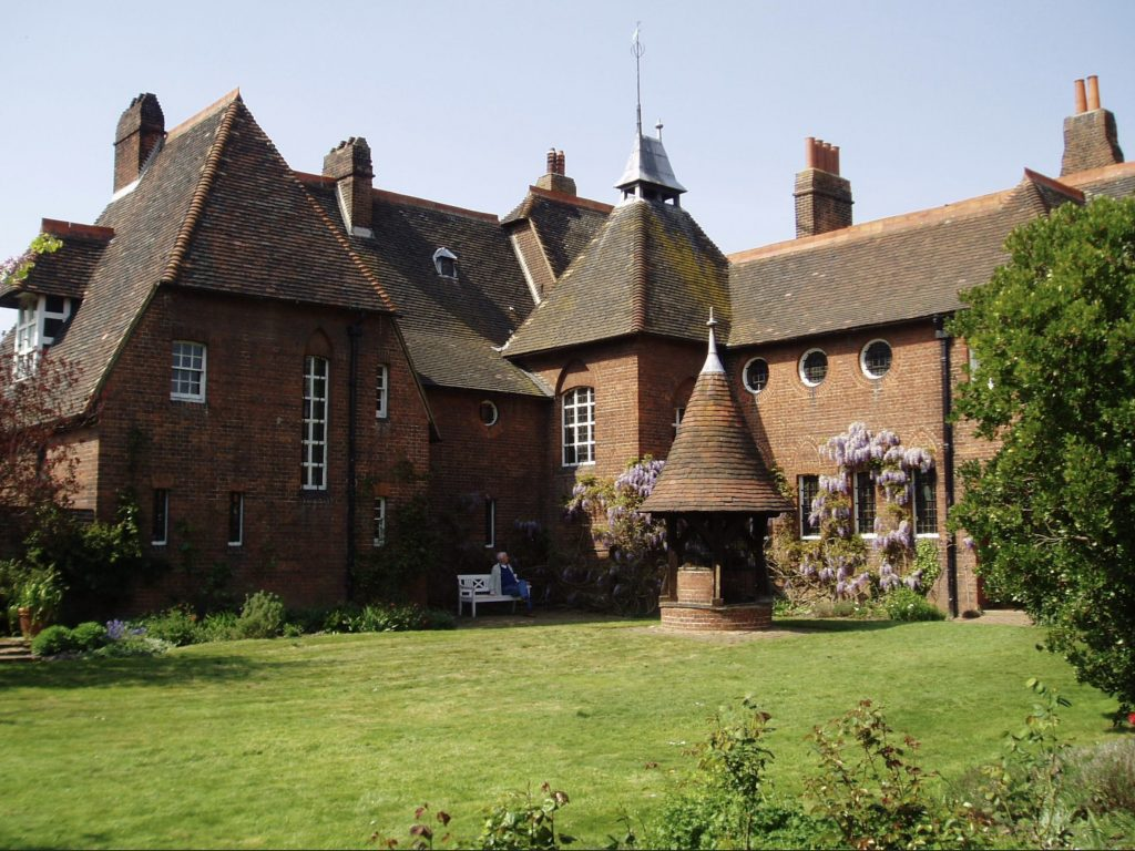 Enneagram artists: Philip Webb for William Morris, The Red House at Bexleyheath, 1859, London, UK.