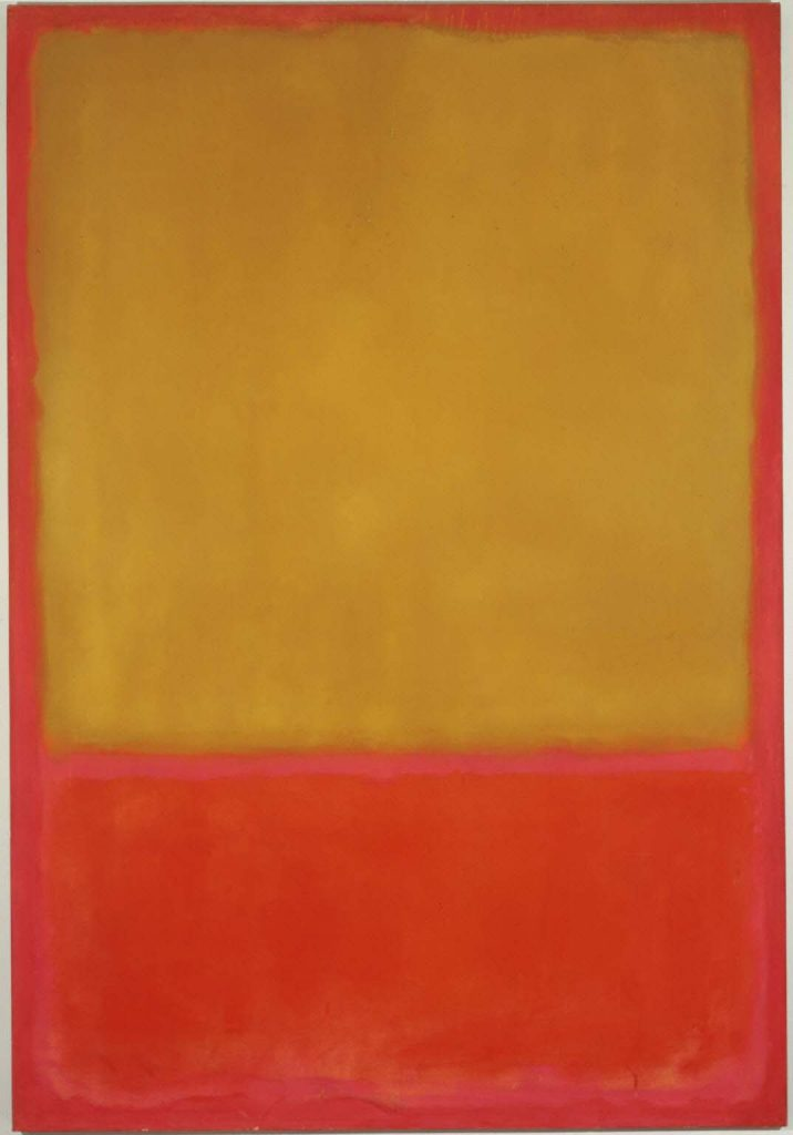 abstract expressionism 101, Mark Rothko, Ochre and Red on Red, 1954. The Phllips Collection, Washington, USA.