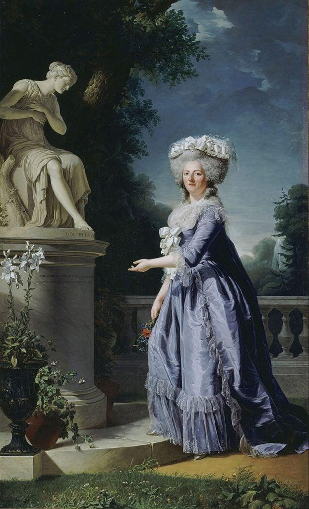 female court painters, Adélaïde Labille-Guiard, Madame Victorie of France, 1788, Palace of Versailles, Paris, France.