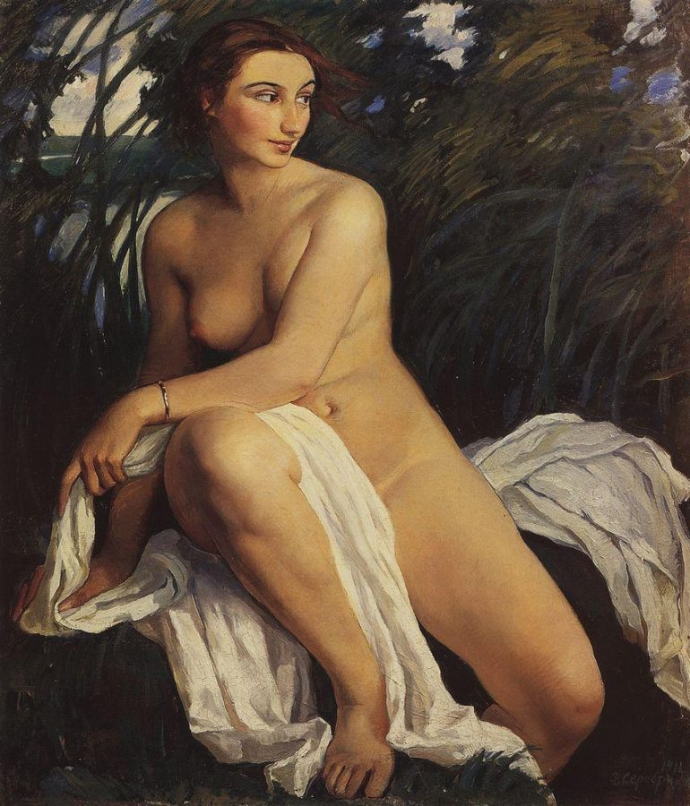 Zinaida Serebriakova. Zinaida Serebriakova, Bather, 1911, The State Russian Museum, Saint Petersburg, Russia.