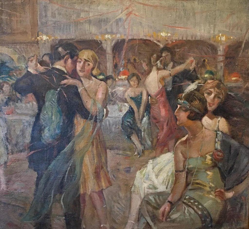 İbrahim Çallı, New Year Ball at Park Hotel, 1930, private collection.