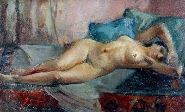 İbrahim Çallı, Woman, date and location unknown.