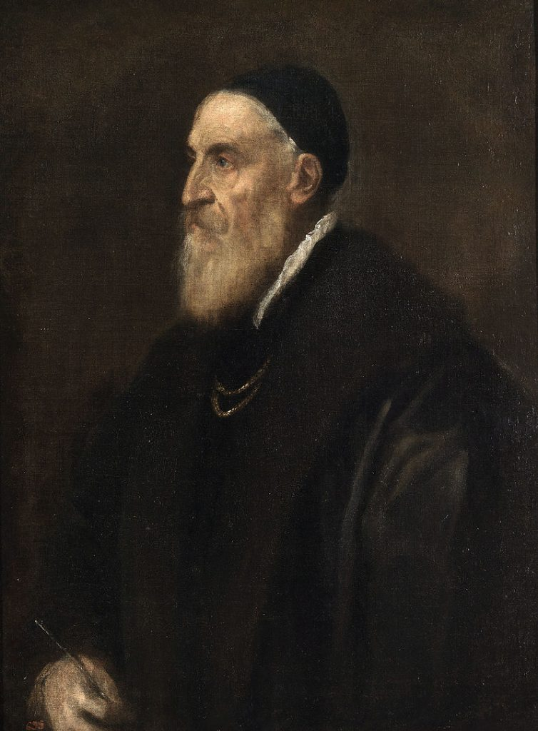 10 Things You Should Know About Titian: Titian, Self-portrait, 1567, Museo Nacional del Prado, Madrid, Spain.