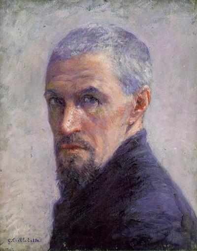 Enneagram artists: Gustave Caillebotte, Self-Portrait,1892, Musée d'Orsay, Paris, France.