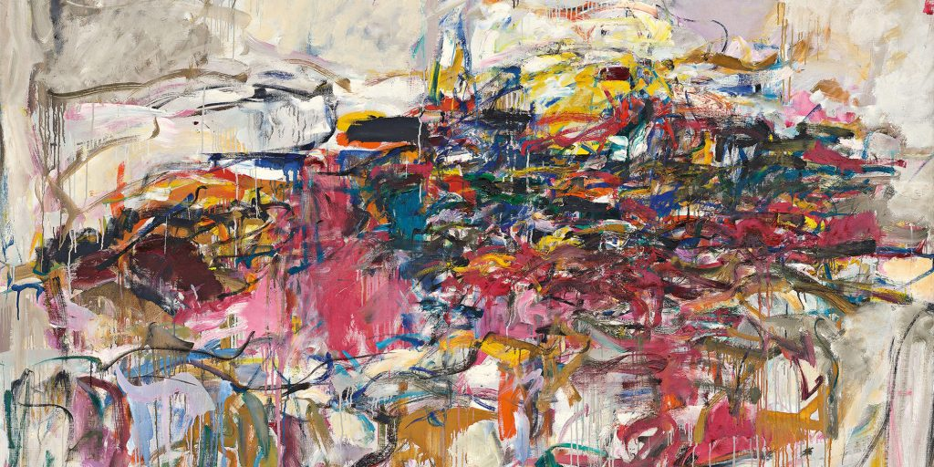 Abstract Expressionism 101. Joan Mitchell, City Landscape, 1955, oil on linen. The Modern Art Museum of Fort Worth, Texas, USA.