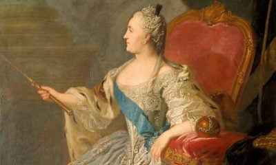 Catherine the Great portraits. . Fyodor Rokotov, Portrait of Empress Catherine the Great, 1763, Tretyakov Gallery, Moscow, Russia.