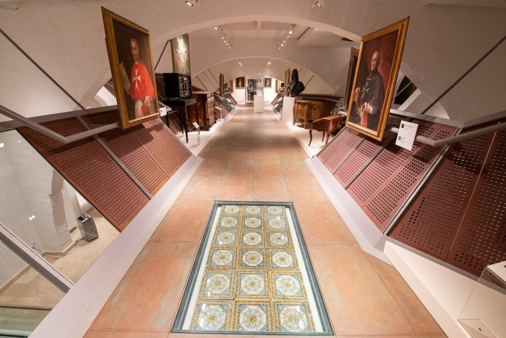 """The Europe narrative, """"A Noble Space"""" gallery, MUŻA - National Community Art Museum/Heritage Malta."""